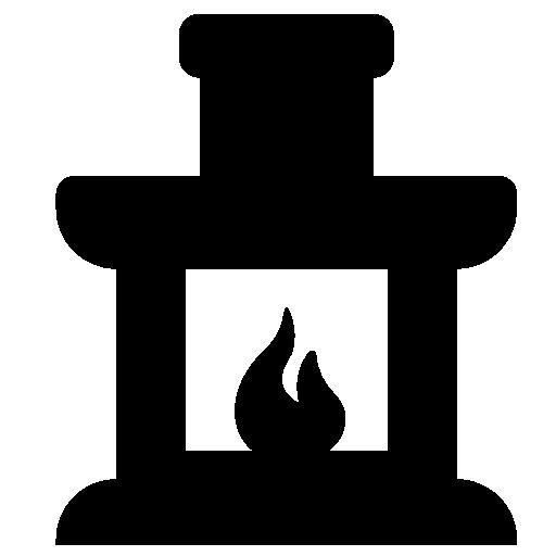 Eden Vreugd Guest House Fireplace